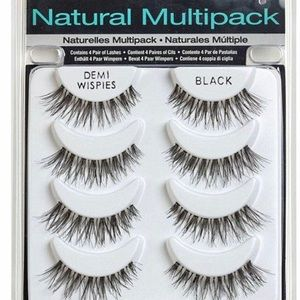 New! Grab Bag! 15 Packages of Black Faux Eyelashes